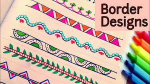 Easy To Make Border Designs Tips For Create Creative Border Designs For School Projects