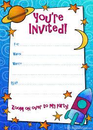 Birthday Party Invitation Card Template Free Free Birthday Invitation Templates Camping First Birthday Invitation