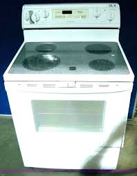 electric flat top stoves flat top electric range whirlpool stove top electric flat top stoves contemporary