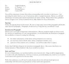 Business Memorandum Letter Informational Paragraph Example Fresh 5 Writing A Memo Simple Memo