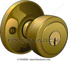 door knobs clipart. Unique Door Clipart  Door Knob Fotosearch Search Clip Art Illustration Murals  Drawings And For Knobs