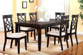 dining room chairs set of 6 espresso 5 piece dining table and chairs set 6 finish