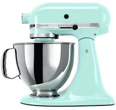ice blue kitchenaid mixer photo of volt artisan stand toaster 5ksm150psbac