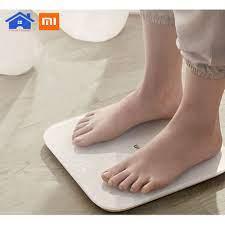 CHÍNH HÃNG] Cân thông minh Xiaomi gen 2 2019 - Cân điện tử xiaomi thông  minh Xiaomi Scale 2 Universal