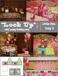 (This idea could be used for Young Women, Baby Showers, birthday parties  etc.)