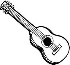 Small Picture Rock Guitar Coloring Pages Printable Coloring Page Guitar guitar