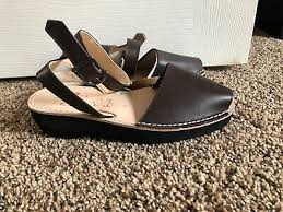 Avarcas Size Chart Nwt Pons Avarca Classic Style Strap Brown Size 8