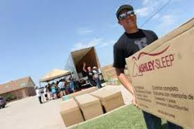 Mathis Brothers and Ashley donate 145 mattress sets to tornado victims
