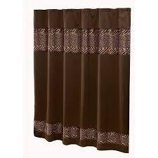 avanti cheshire polyester animal print patterneded animal shower curtain 70 in x 72 in