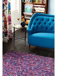 quick view beans bea02 multicoloured chunky wool gy rug free uk delivery