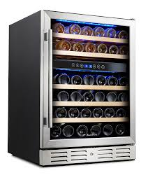 amazoncom kalamera '' wine refrigerator  bottle dual zone