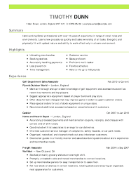 Example Resume For Customer Service Resume Resume Objective Example For Customer Service