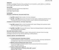 College Resume Examples For High School Seniors Sample College Resume High School Senior Abcom 24
