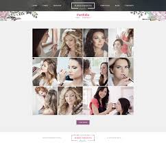 makeup artist premium psd template