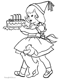 Small Picture Birthday Coloring Pages I TeacherSherpa
