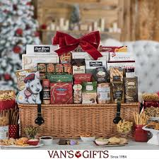 a gourmet gift basket or treat tower make the perfect gift for the holidays costco whole