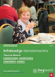 Infoboekje Dienstencentra Deurne Noord By Zorgbedrijf Antwerpen Issuu