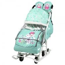 <b>Санки</b> - <b>коляска Ника Disney</b> Baby 2 | Отзывы покупателей