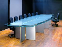 glass top tables for large glass conference tables and custom glass boardroom tables with stainless glass top