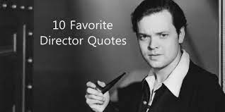 The most famous and inspiring movie director quotes from film, tv series, cartoons and animated films by movie quotes.com. And So It Begins Director Quotes Relay Race