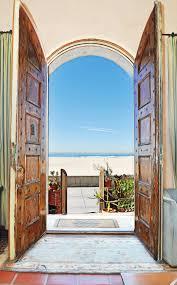 3 front door open to view