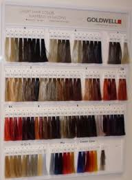 Goldwell Hair Color Chart 2014 Goldwell Wall Chart In 2019 Elumen Hair Color Hair Color