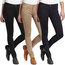 Details About Dickies Girl Skinny Pants Junior Stretch