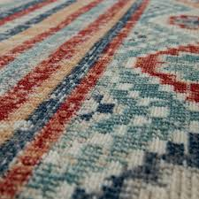 Details About Trendy Flat Weave Rug Vintage Oriental Used Effect Shabby Chic Multi Coloured