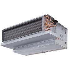 carrier fan coil units. carrier 42ce horizontal fan coils - furred-in with plenum coil units