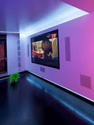 interior lighting designs. hall and living room with changing color wall lighting design interior designs t