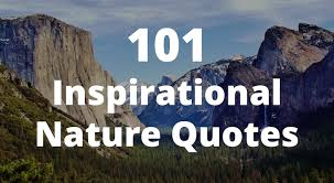 40 Inspirational Nature Quotes Inspiration Emerson Nature Quotes