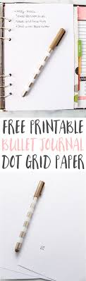 Free Printable Dot Grid Paper Dot Grid Paper Printable Free Bullet Journal Page