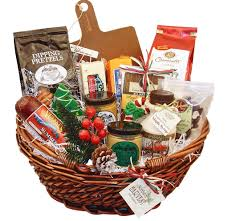 picture of wisconsin gifts for sharing basket