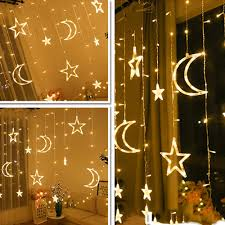 Fairy Lights Moon Best Offer Ff5a3 Moon Star Lamp Led Lamp String Ins