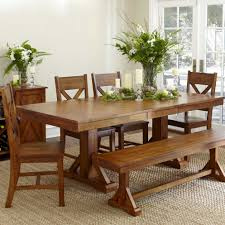 Simple Dining Room Table With Bench Picking The Perfect Kind Of