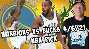 Golden State Warriors vs Milwaukee Bucks 4/6/21 Free NBA Pick and  Prediction NBA Betting Tips - YouTube