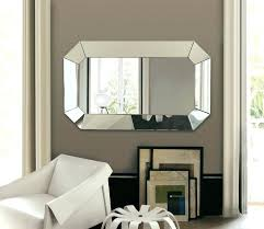 large frameless wall mirrors living room floor oversized round mirror medium size of