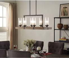 6 light metal wood chandelier dining room kitchen light fixture rustic charm unbranded arts crafts rustic charm
