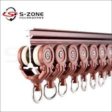 curtain track parts flexible system for hospital