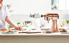 as the culinary centre of the kitchen the new limited release stand mixer with its sophisticated festive copper glow is the ultimate