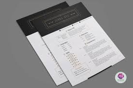 Modern 2 Page Resume Template On Behance Templates Free Download