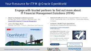 Oracle It Financial Management