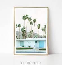 palm springs poster printable wall art