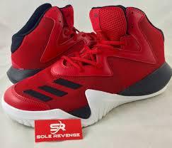 adidas basketball shoes 2017. 11.5 new! adidas crazy team 2017 basketball shoes red black white mens b49400