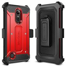 Evocel LG K20 Plus Explorer Series Red Case -