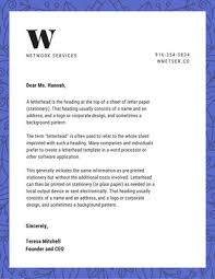 What Is Professional Letterhead Blue Waves Professional Letterhead Templates By Canva