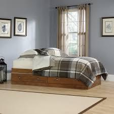 Sauder Bedroom Furniture Sauder 411899 Shoal Creek Collection Oiled Oak Mates Bed