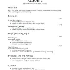 First Job Resume Fascinating Fresh Ideas First Resume Template First Job Resume Template