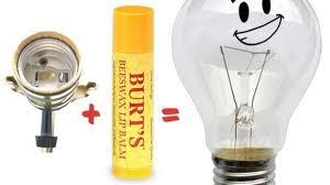 Sticky Light Bulb Sockets Use Lip Balm To Fix A Sticky Light Socket