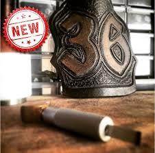 smoked leather fire helmet shields